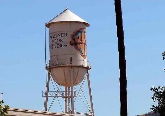 Warner Bros water tower, Los Angeles, California