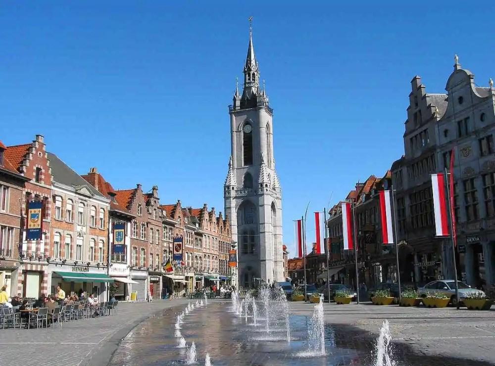 Belfry of Tournai, Belgium