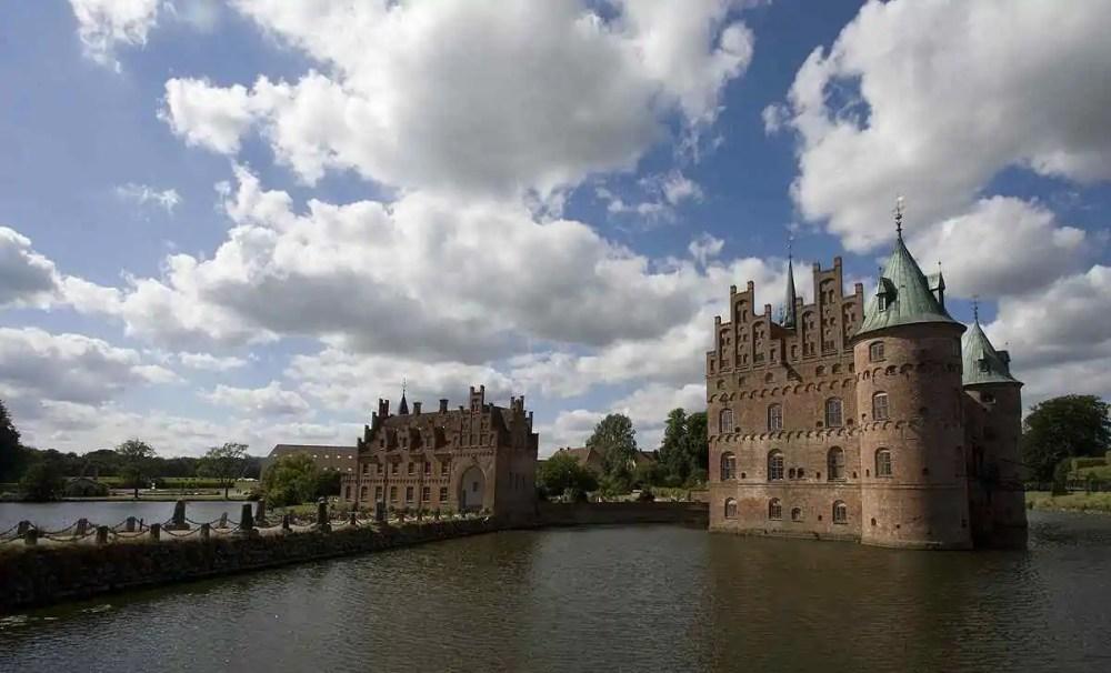 Egeskov Castle, Funen Island, Denmark