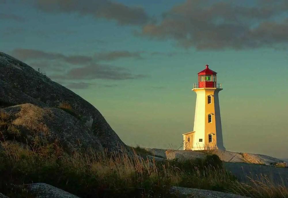 Peggy's Point Lighthouse, Nova Scotia, Canada