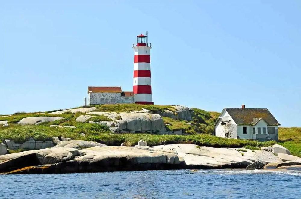 Sambro Island Lighthouse, Canada