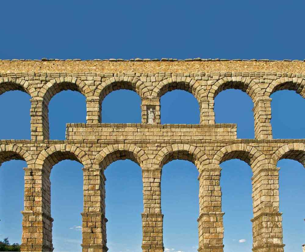 Aqueduct of Segovia, Segovia, Spain