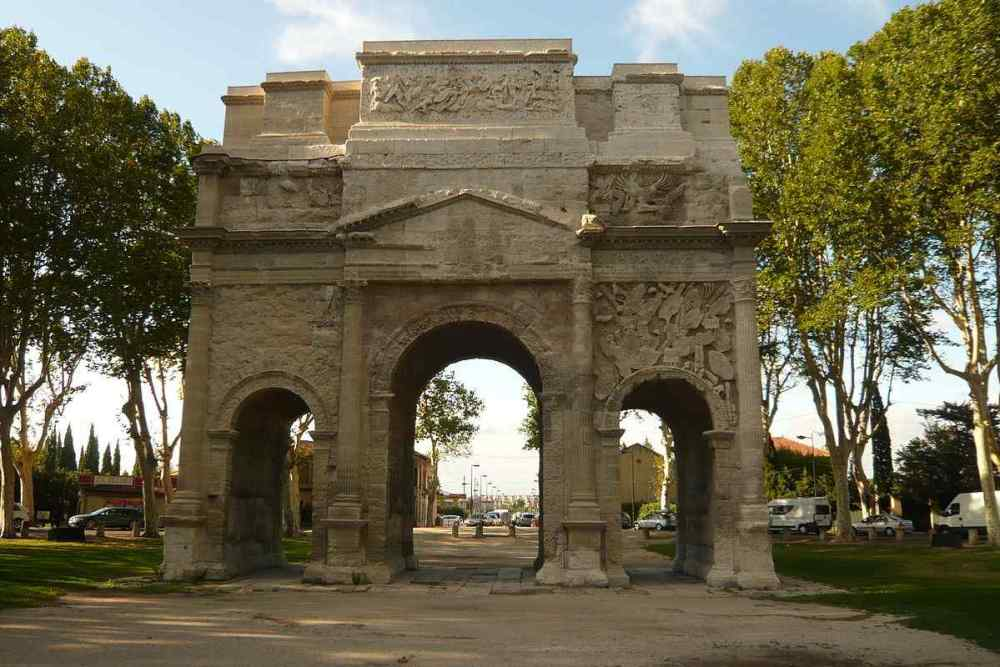 Triumphal arch of Orange, Orange, France
