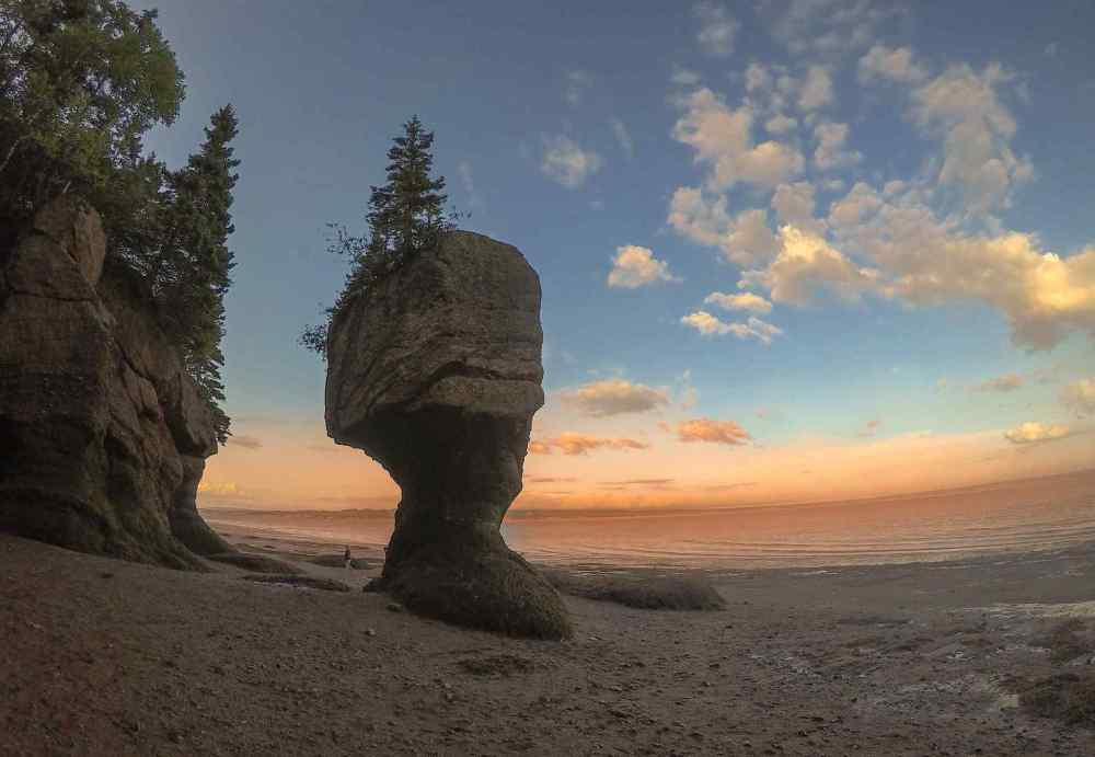 HOPEWELL ROCKS, New Brunswick,Canada