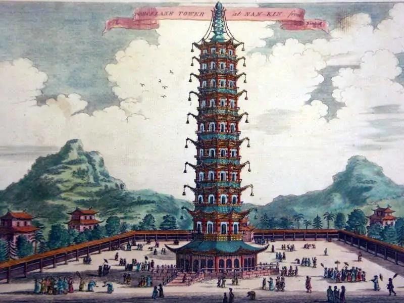 The Porcelain Tower of Nanjing Nanjing, China