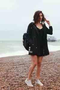 Me on Brighton Beach