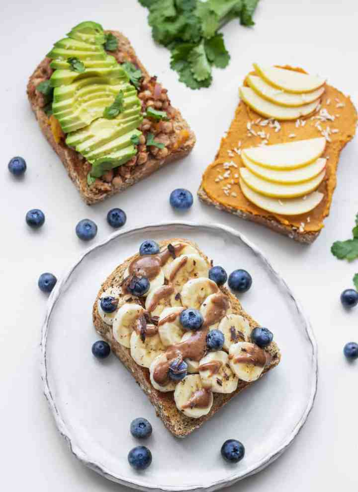 Three Vegan and Healthy Toast Recipes