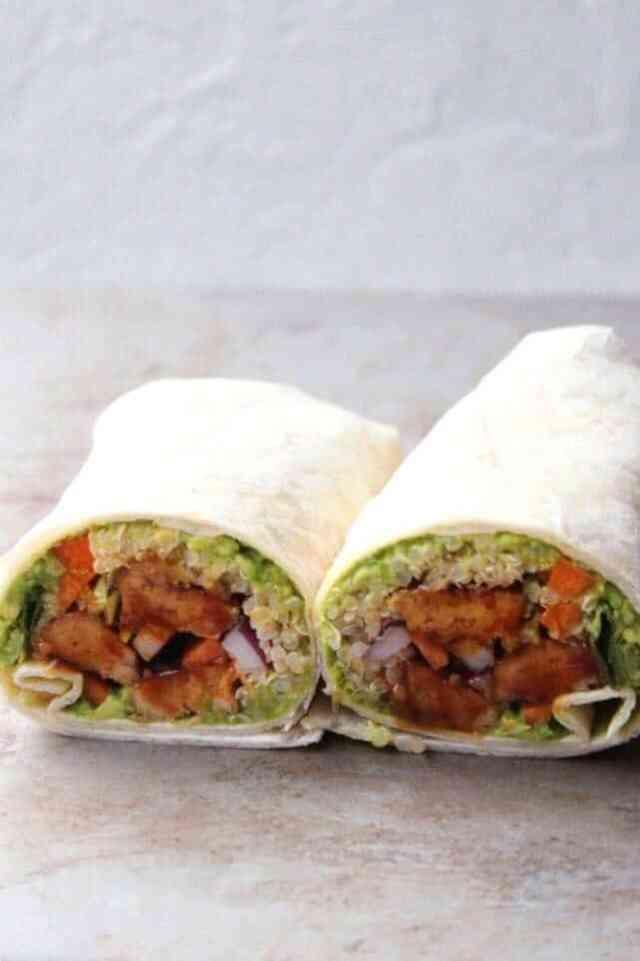 How to make a vegan wrap