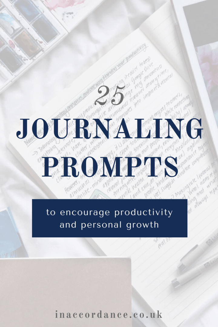 25 Journaling Prompts to Encourage Productivity and Personal Growth