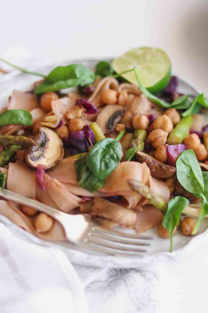 Vegan Chickpea Stir-fry Recipe - Gluten-free And Simple
