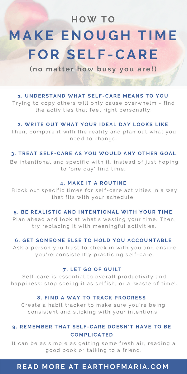 5 layers self care happiness