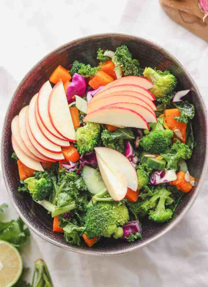 Maple Butternut Squash Autumn Salad Bowl