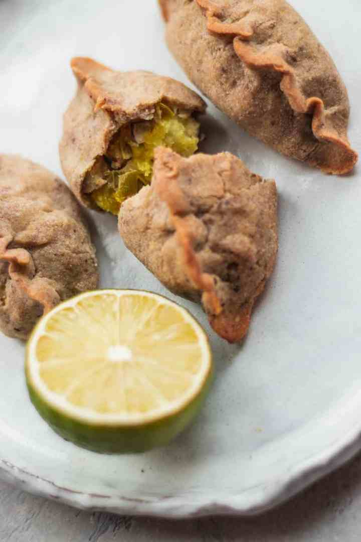 Gluten-free vegan piroshki recipe