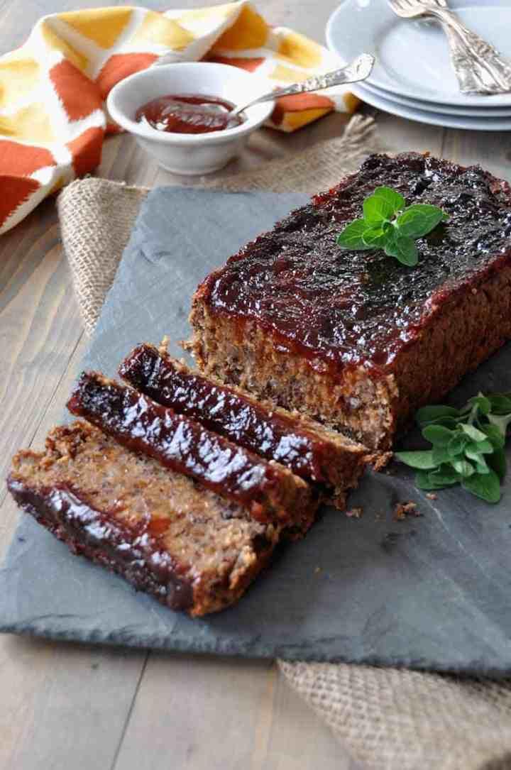 Smoky Southern Style Meatless Meatloaf Veganosity