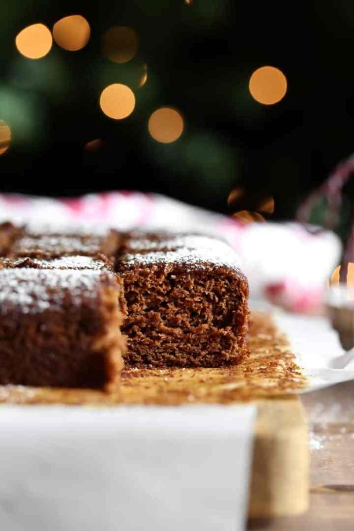 Vegan gingerbread cake The Vegan 8