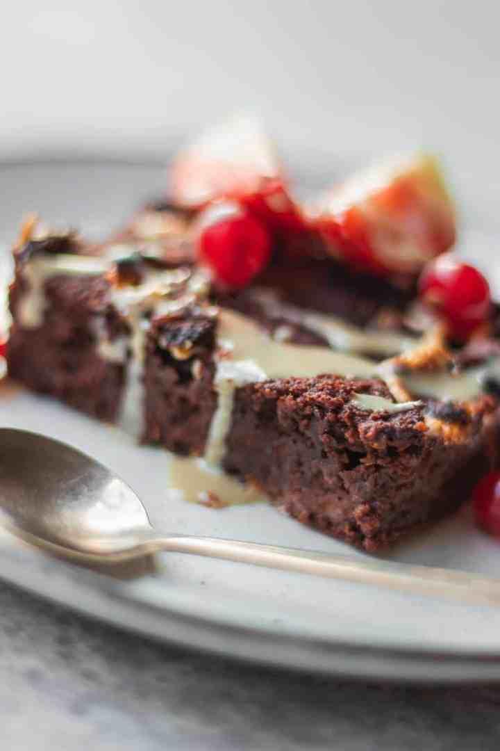 Sweet potato brownies vegan gluten-free