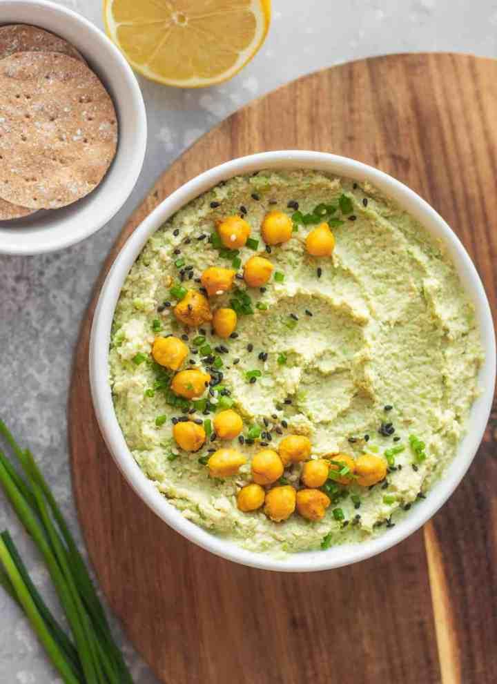 Vegan Edamame Hummus