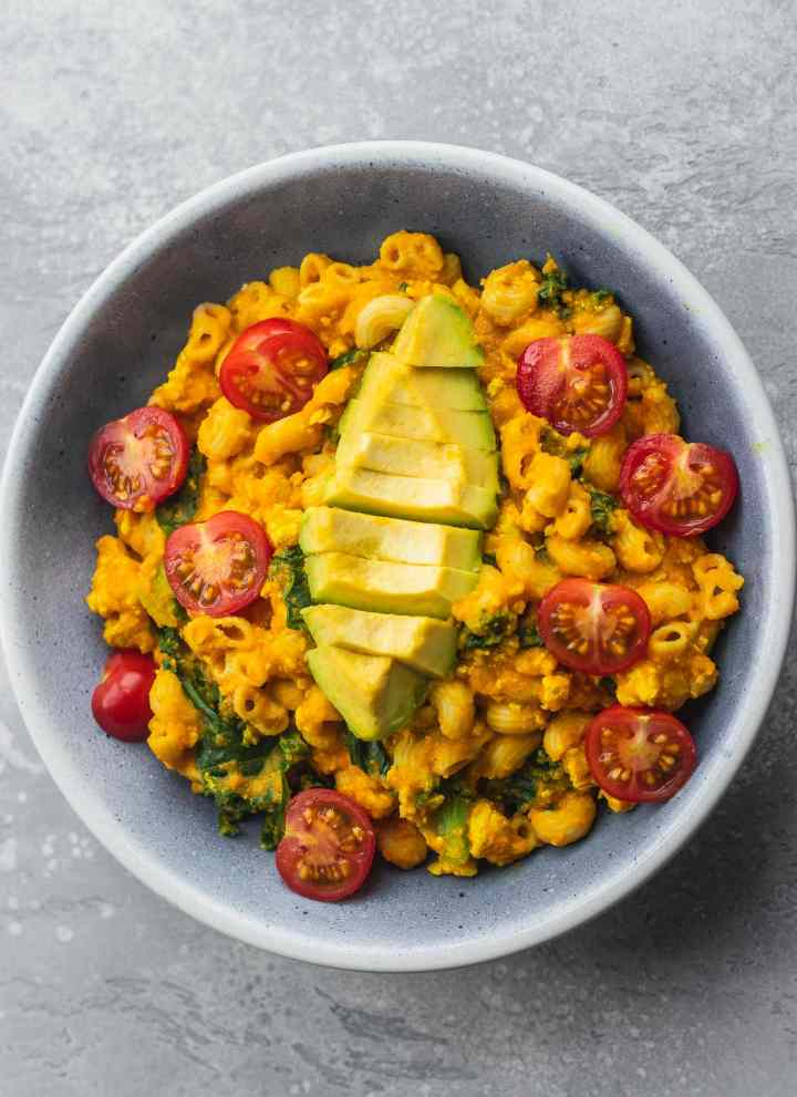Butternut Squash Mac And Cheese With Tofu
