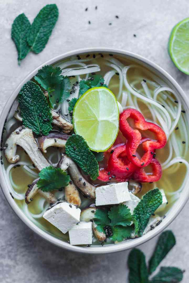 Vegan pho recipe gluten-free oil-free
