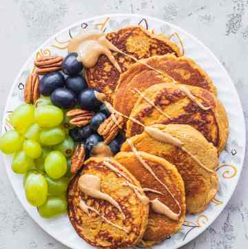Vegan sweet potato pancakes gluten-free