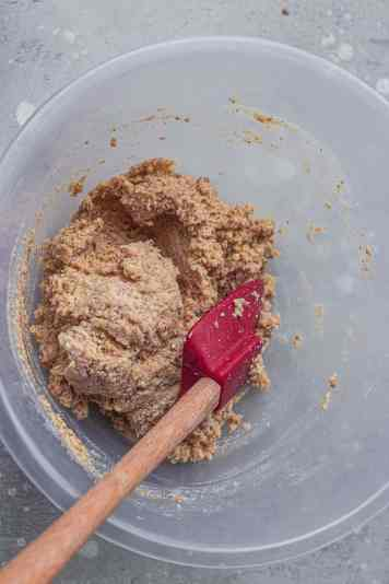Coconut flour muffins batter