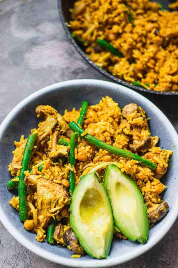 Vegan fried rice gluten-free