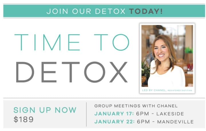 Time To Detox - Earthsavers Spa + Store