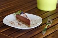 Raw Vegan Choco Cheesecake