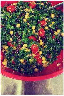 Tabouli Protein Salad