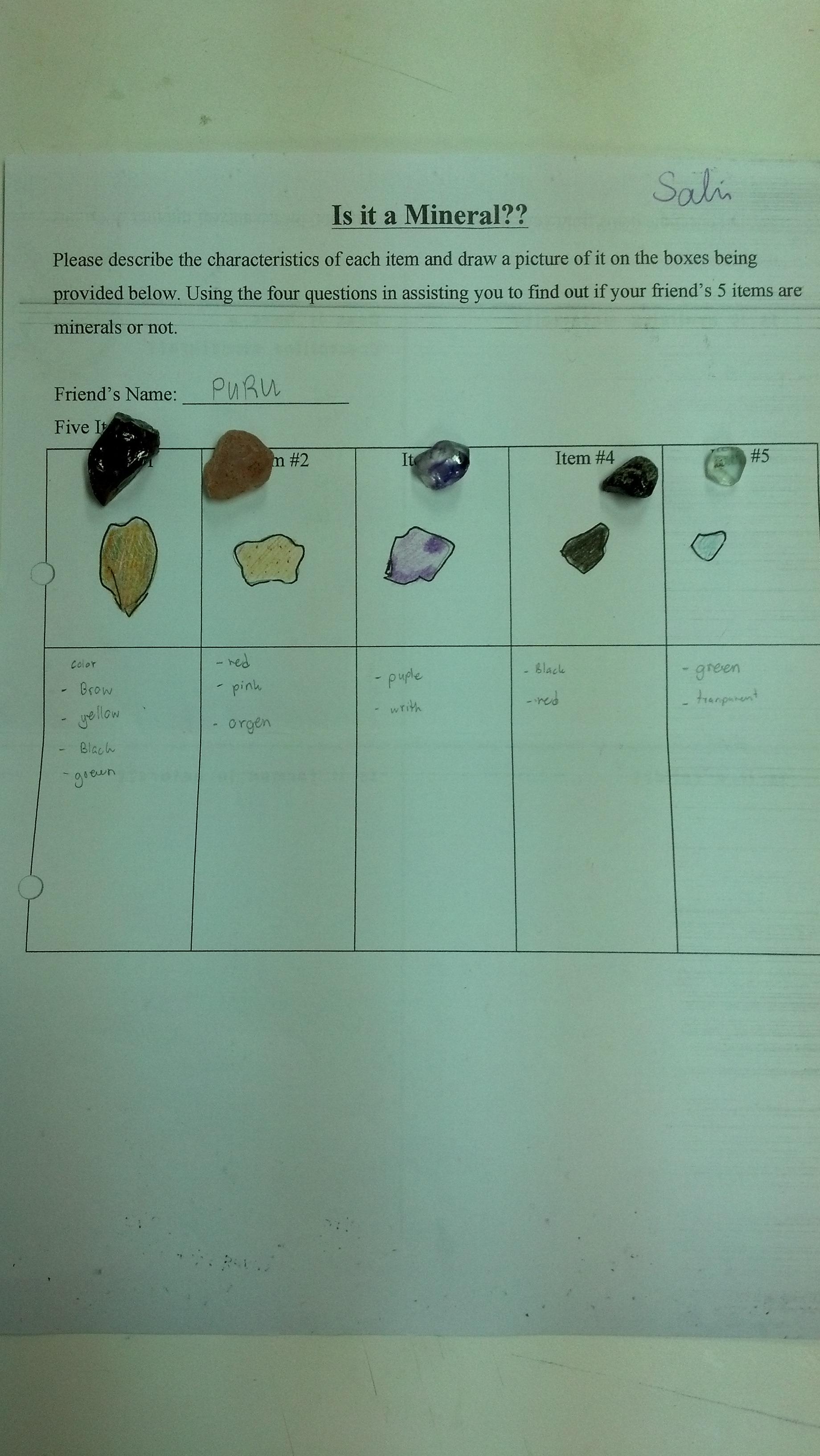 Grade 7 Earth Science