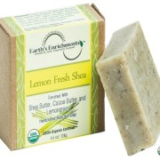 Bar Soap (USDA Organic) – Lemon Fresh Shea