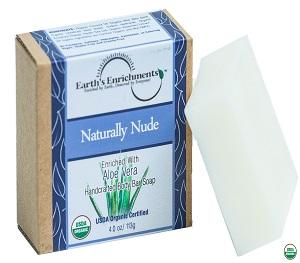 Organic Soap Bar (USDA) - Naturally Nude