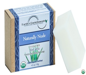 Organic Soap Bar (USDA) - Naturally Nude