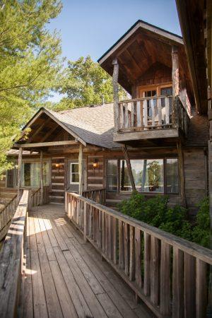 Main Lodge (photo credit: Karly Wood Photography)