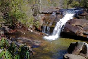 Wintergreen Falls in DuPont State Forest