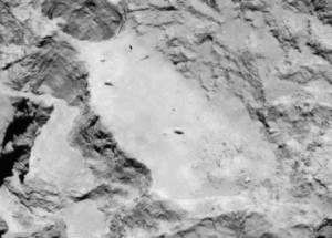 Five finalists for Philae landing site on Rosetta's comet ...