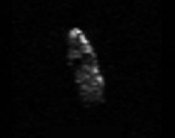 Latest images of Christmas Eve asteroid   Science Wire ...