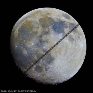 ISS passes mineral moon    Today's Picture