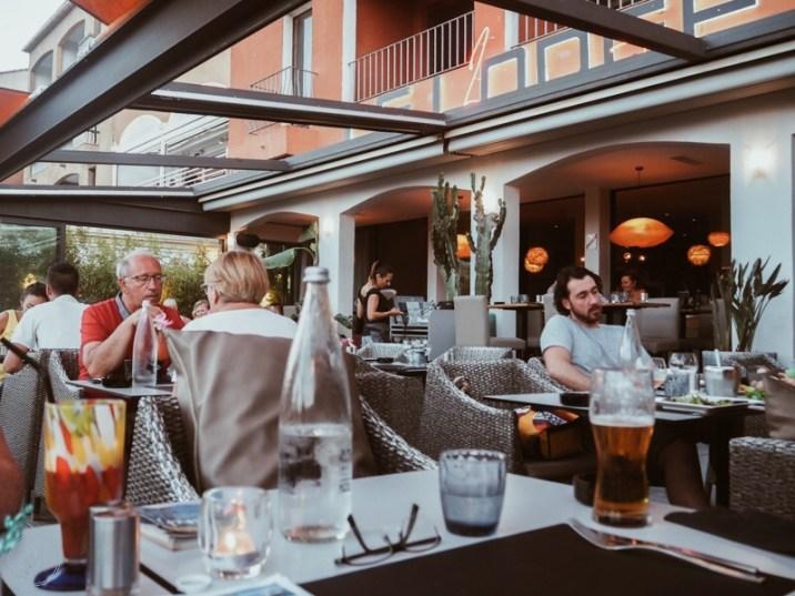 porto vecchio corsica restaurants le lodge