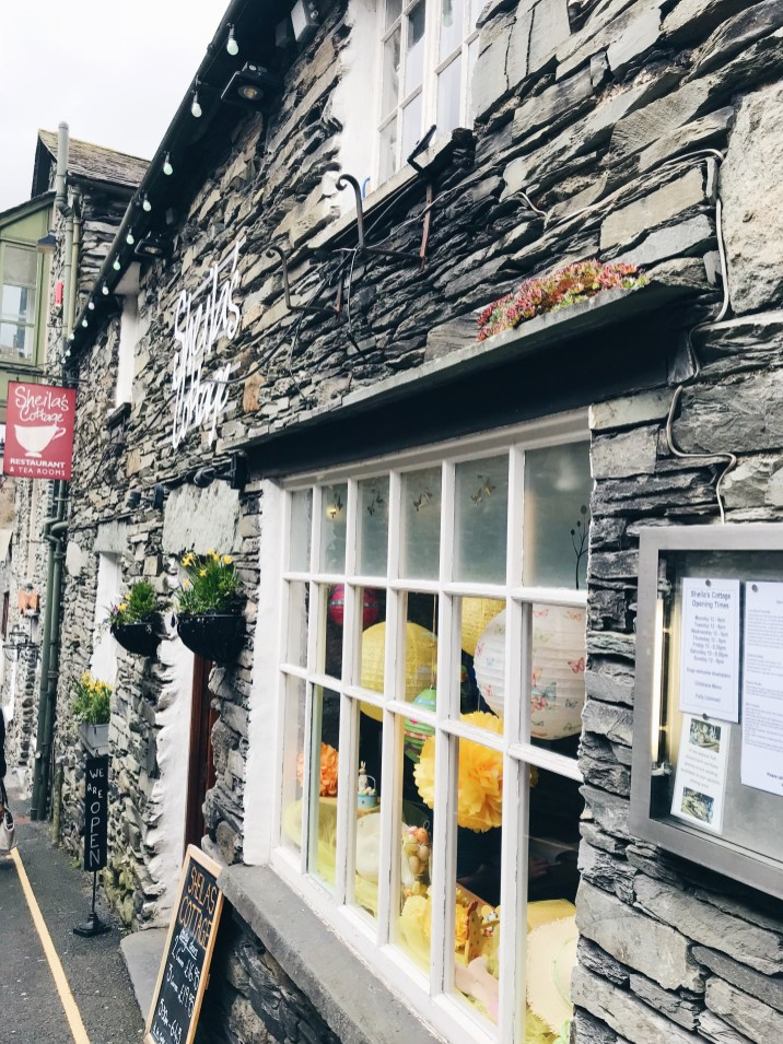 Places in the Lake District Ambleside