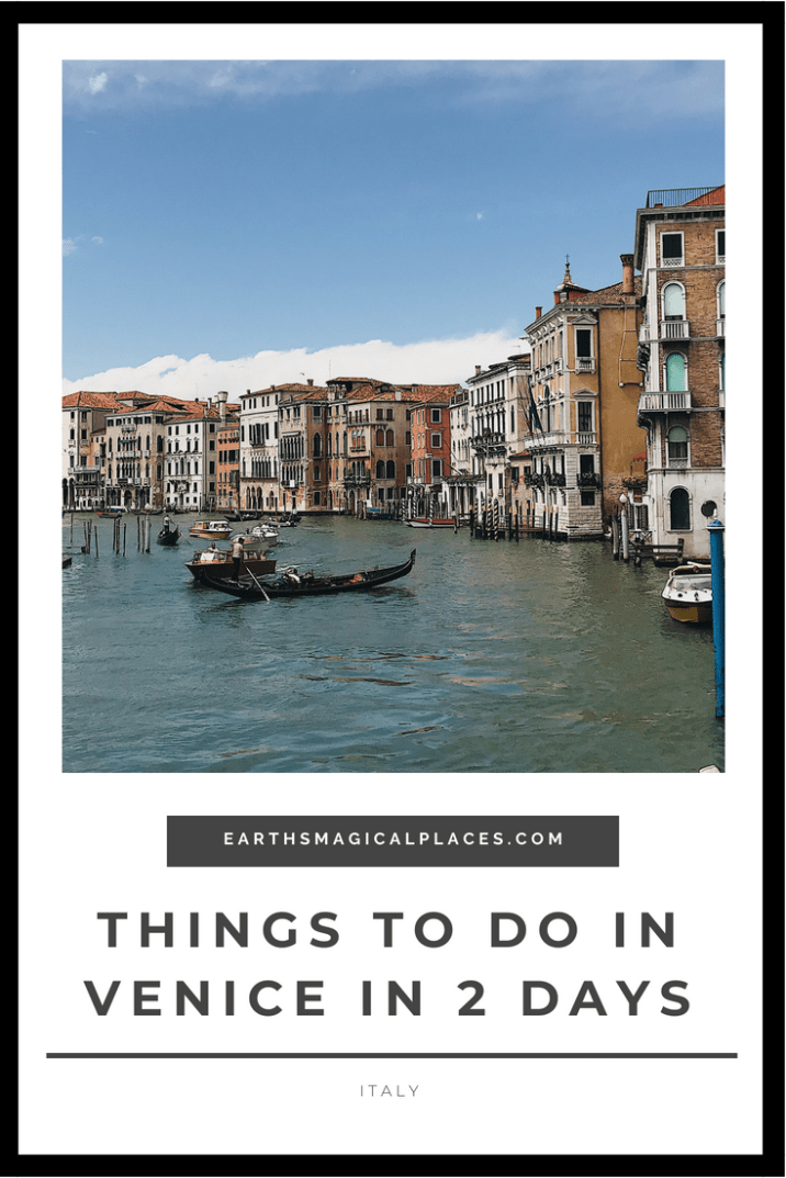 Venice Italy is a Romantic city that everyone should visit! You might only think of Gondola rides but there are many more things to do in Venice... Click to read this post all about what these things are! #Venice '#Italy #Travel #Thingstodo #Instagram