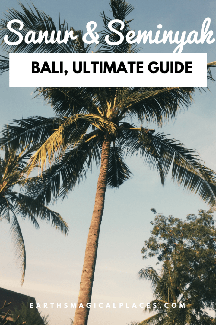 Your Guide to Sanur and Seminyak in Bali Indonesia! From the best beaches to the best things to do in both! This post also contains tips to the best restaurants, shops and hotels! So click to read about these beatuiful Resorts. #Sanur #Seminyak #Bali #Indoneisa #Beach
