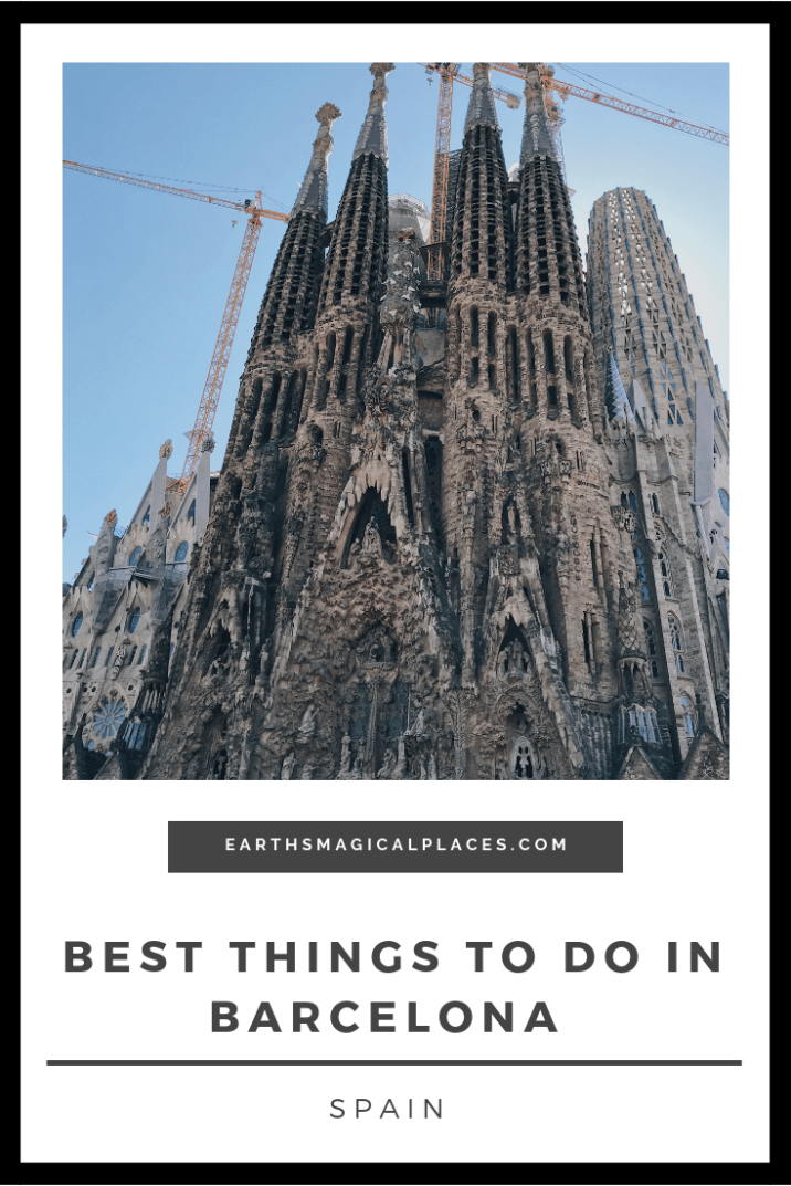 Your guide on the best things to do in Barcelona Spain on a weekend trip! The city has amazing nightlife and architecture, as well as a beach. So it should be top of your travel list! #Barcelona #Spain #nightlife #architecture #travel