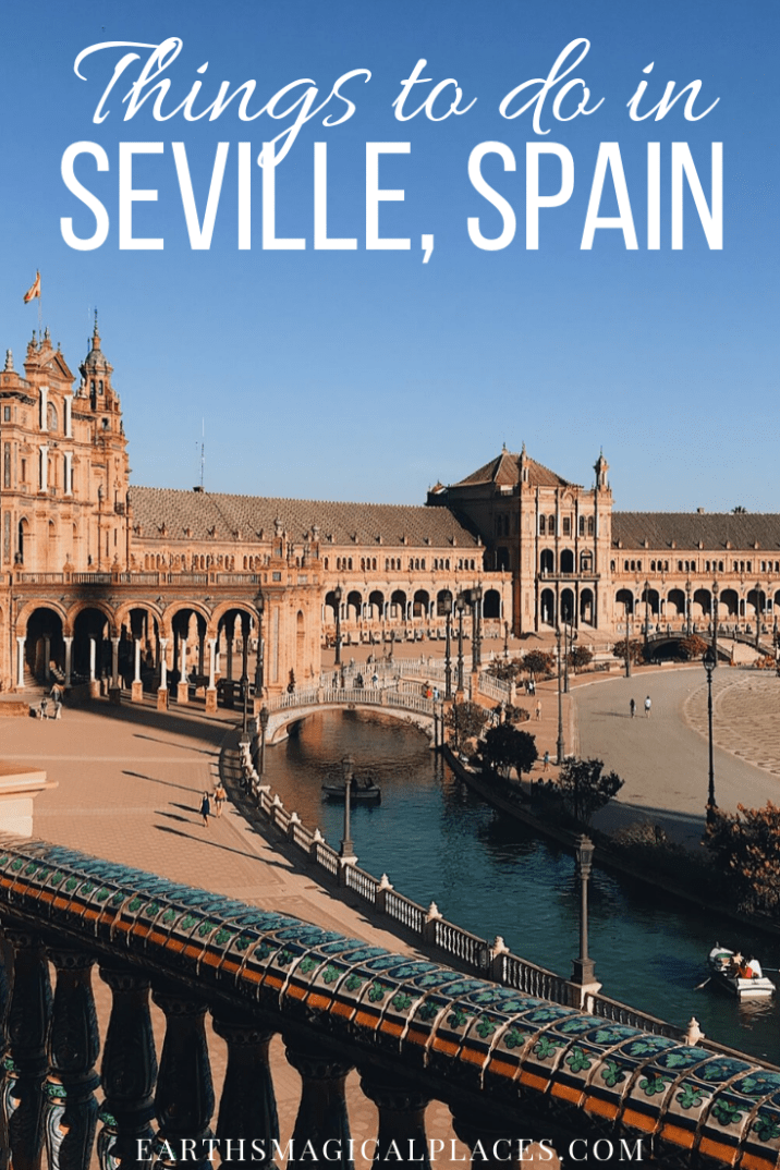 Seville Spain (Sevilla) is full of beautiful places such as the Alcazar, which features in Game of Thrones! When you travel to Seville there are lots of things to do... Thus, If you're looking for what to do in Seville then this post is for you! #Seville #Spain #Travel #Sevilla