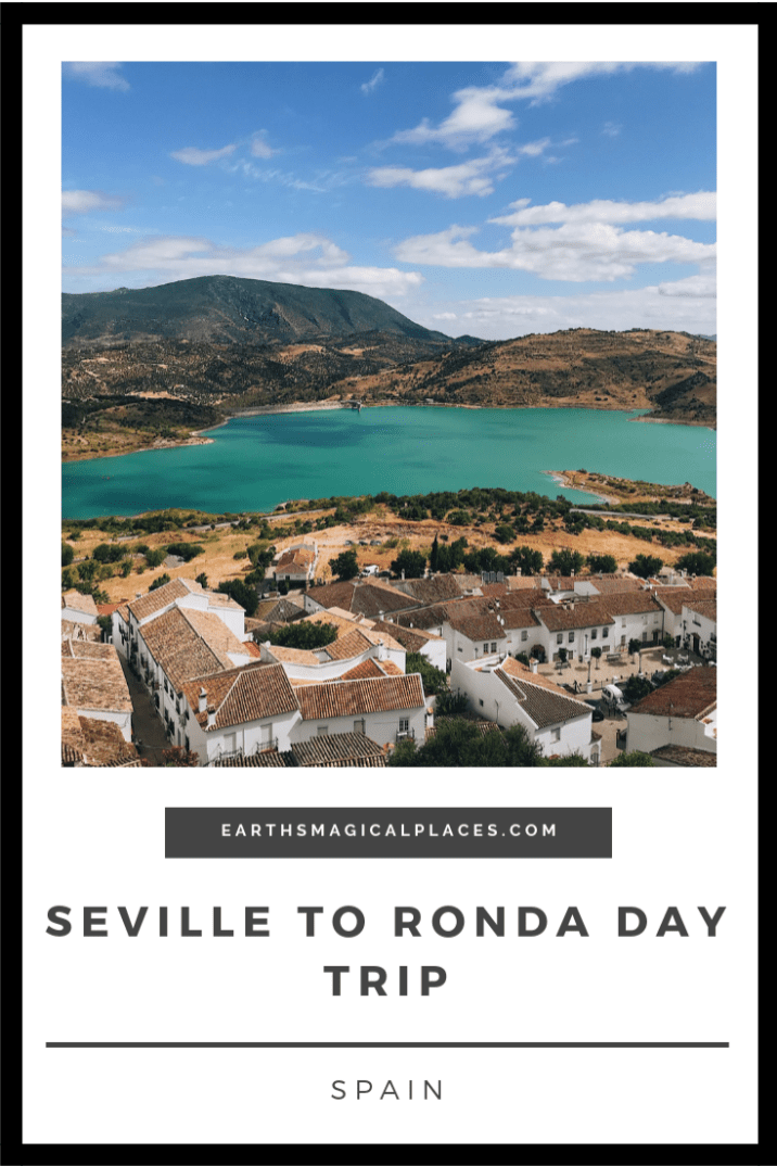 There are loads of Seville day trips you could take! But the best one is Seville to Ronda, one of Andalucia's stunning white villages (Pueblos Blancos). This post is all about the things to do in Ronda Spain on such a day trip! #Spain #Ronda #Seville #Travel