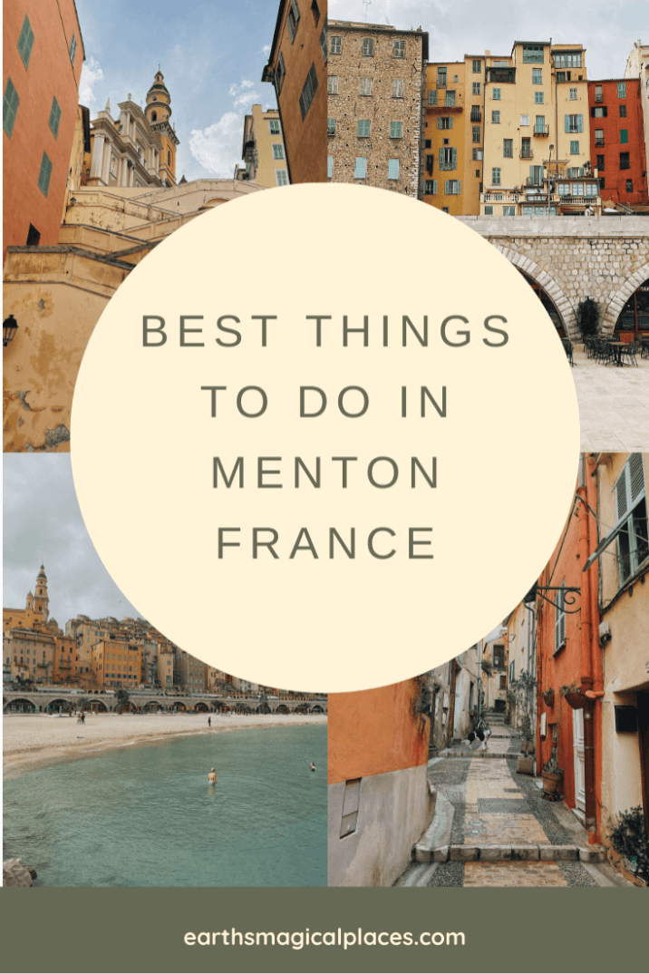 Menton France Things to do: Your ultimate guide to this French Riviera Town! | Menton Ville | Menton France Old Town | Menton France Beach | Menton France Photography