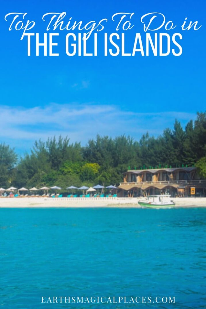 The ultimate guide to all the best things to do in Gili Trawangan! From where to find the best views and sunset photos to the island swing and beach snorkeling! #GiliTrawangan #Travel #Beach #island
