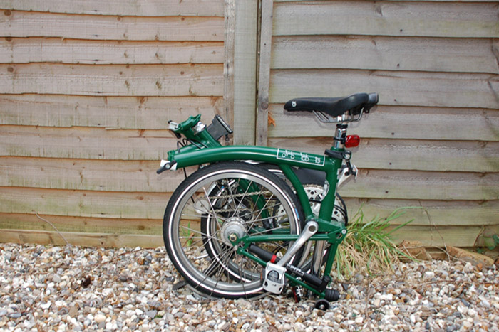 brompton folding bike Earthtalk Q&A