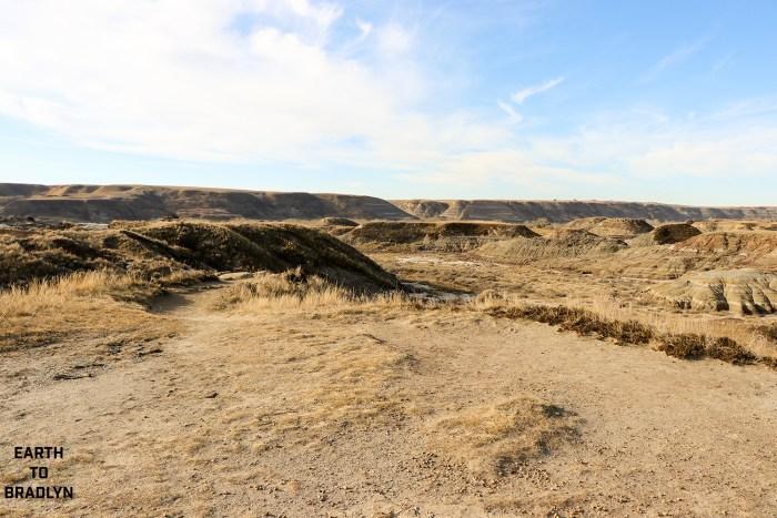 Drumheller has a sprawling landscape!