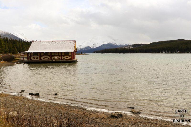 Maligne Lake in the Winter!